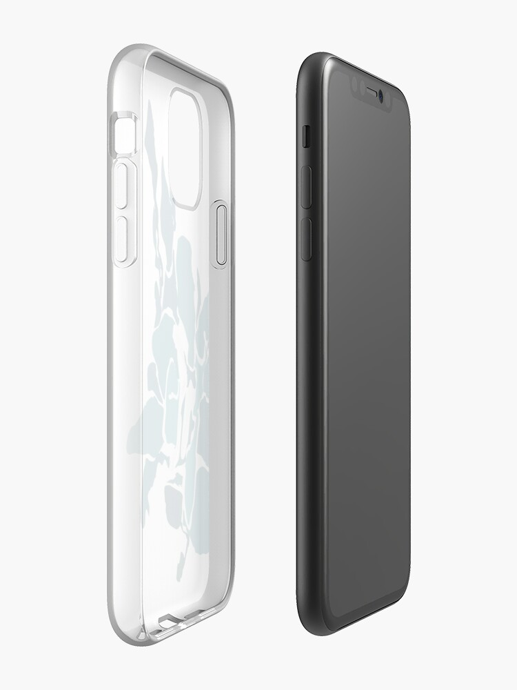 Alternate view of Orchards 2D in Teal iPhone Case & Cover