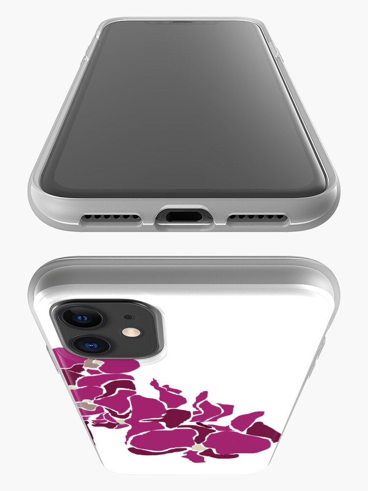 Alternate view of Orchards in Pink B iPhone Case & Cover