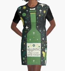 Absinthe  Graphic T-Shirt Dress