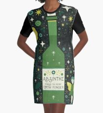 Absinthe  Graphic T-Shirt Dress