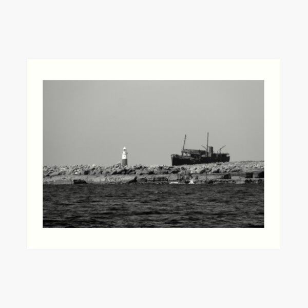 Plassy Shipwreck Art Print