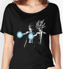 Gohan and goku action Women's Relaxed Fit T-Shirt