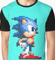 Sonic the Hedgehog 16 bit Graphic T-Shirt