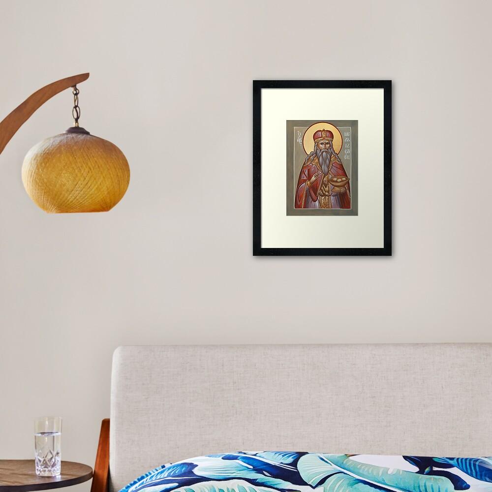 The Righteous Melchizedek Framed Art Print