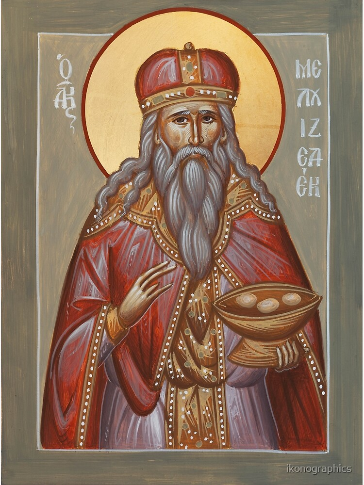The Righteous Melchizedek by ikonographics