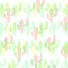 Coloured Cactus by IamJane--