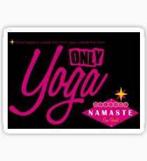 Only Yoga Sticker