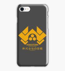 NAKATOMI PLAZA - DIE HARD BRUCE WILLIS (YELLOW) iPhone Case/Skin