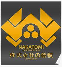 NAKATOMI PLAZA - DIE HARD BRUCE WILLIS (YELLOW) Poster