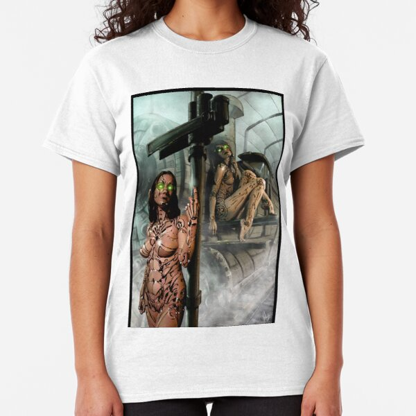 Steampunk Painting 009 Classic T-Shirt