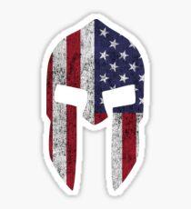 american spartan warriors Sticker