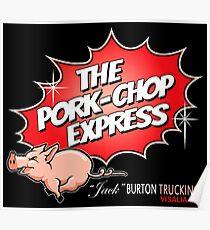 PORK-CHOP EXPRESS JACK BURTON BIG TROUBLE IN LITTLE CHINA Poster