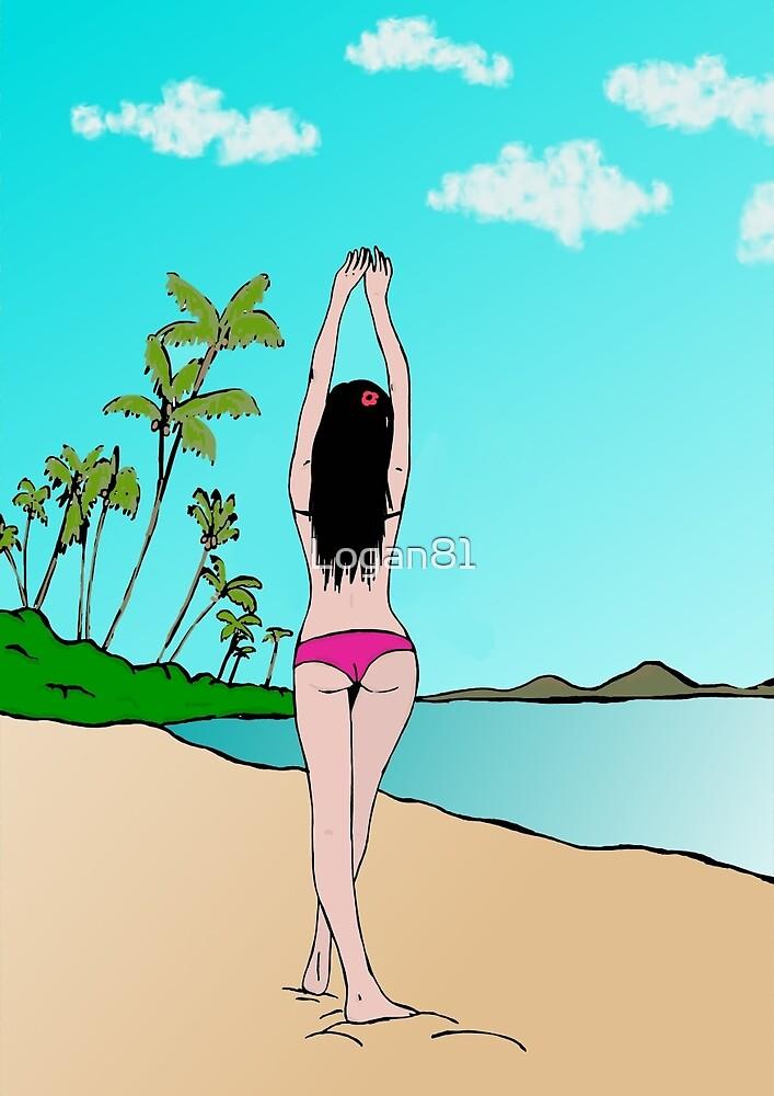 Tropical girl by Logan81