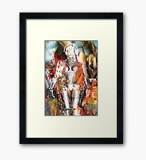 Ghost of a Robot Framed Print