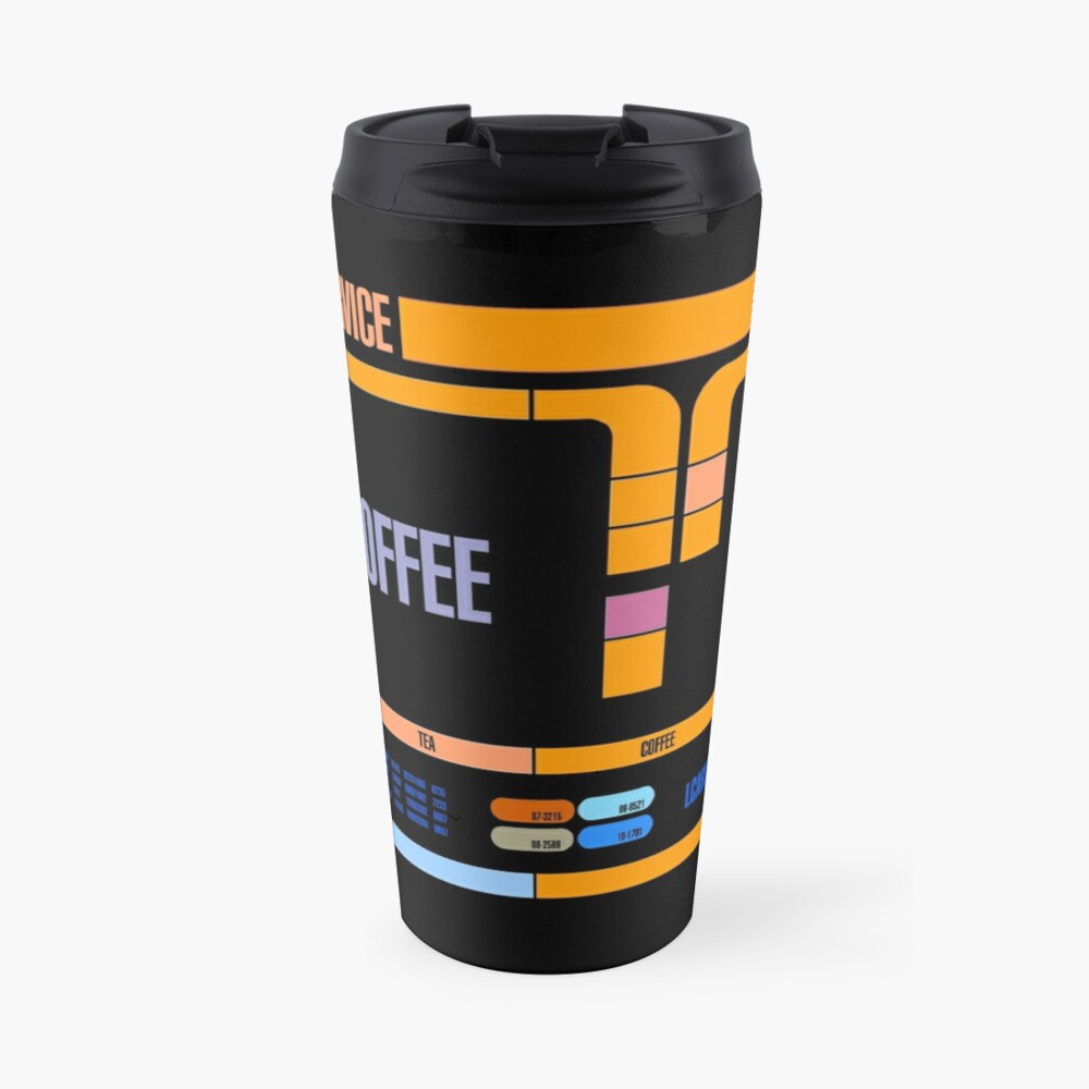 Captains Drink Coffee Travel Mug