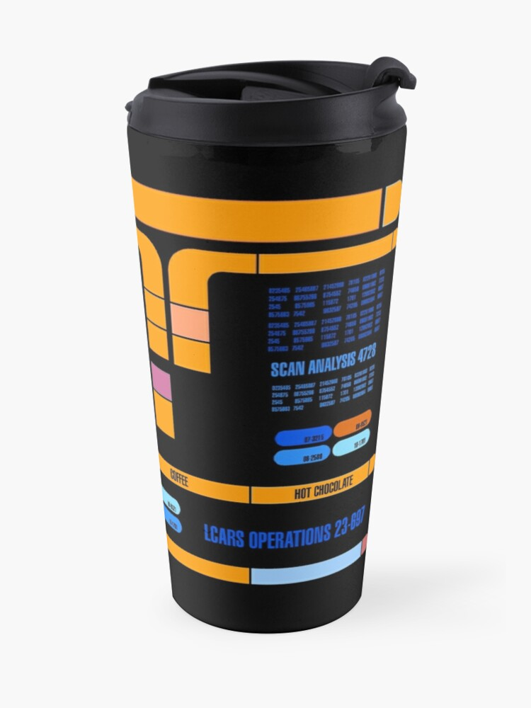 Alternate view of Captains Drink Coffee Travel Mug