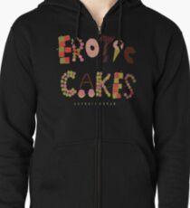 Erotic Cakes Zipped Hoodie