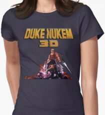 Duke 3D Womens Fitted T-Shirt