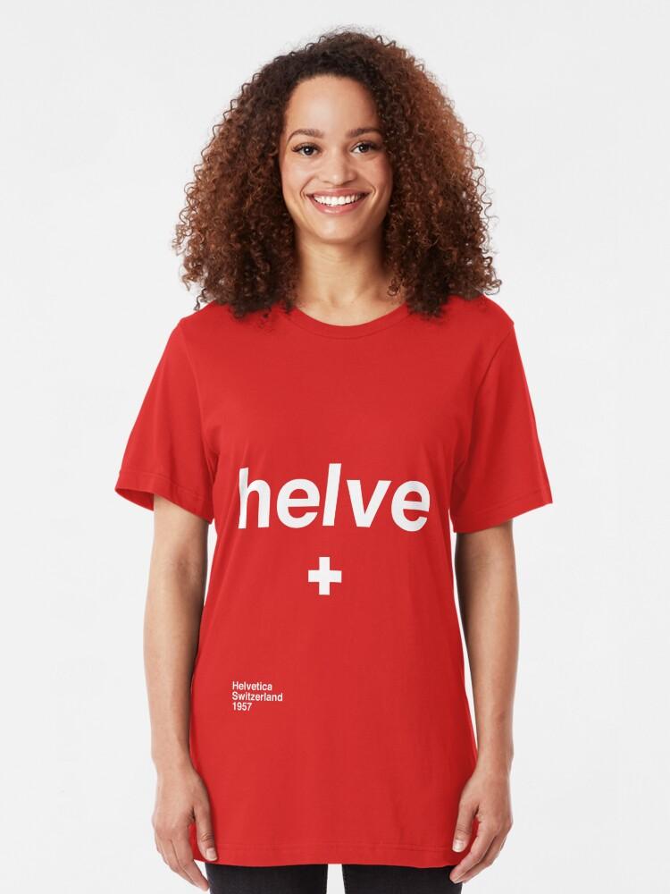 Alternate view of helve Slim Fit T-Shirt