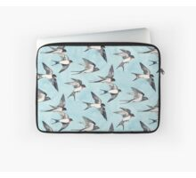 Blue Sky Swallow Flight Duvet Covers By Micklyn