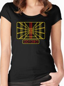 STAR WARS DROP THE BOMB X-WING Women's Fitted Scoop T-Shirt