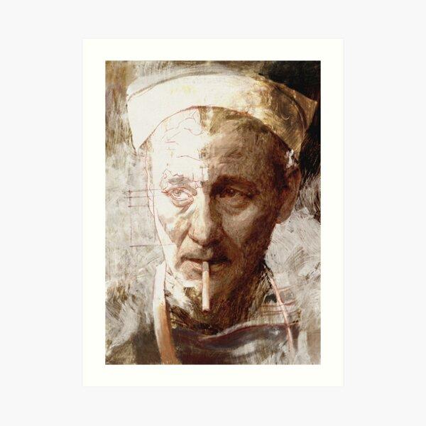 Smoker (621) Art Print