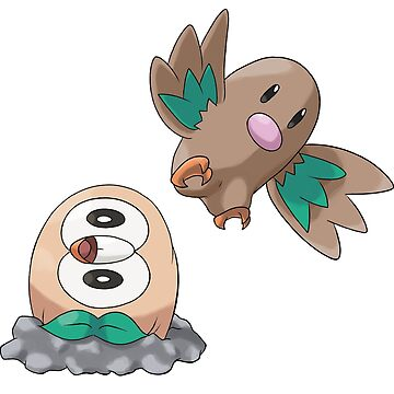 Rowlet by TheAngryAggron