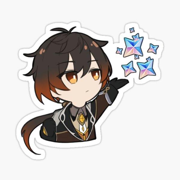 Genshin Impact Zhongli Sticker