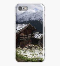 chalet iPhone Case/Skin