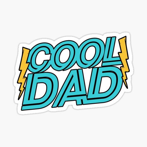 Cool Dad Sticker