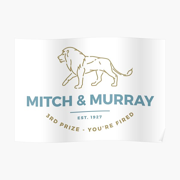 Mitch & Murray Poster