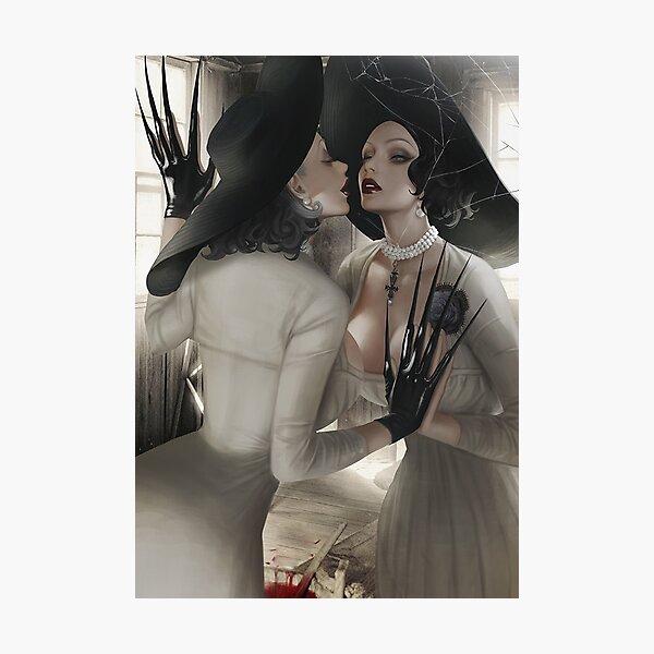 Lady Dimitrescu    Resident Evil Village    Photographic Print