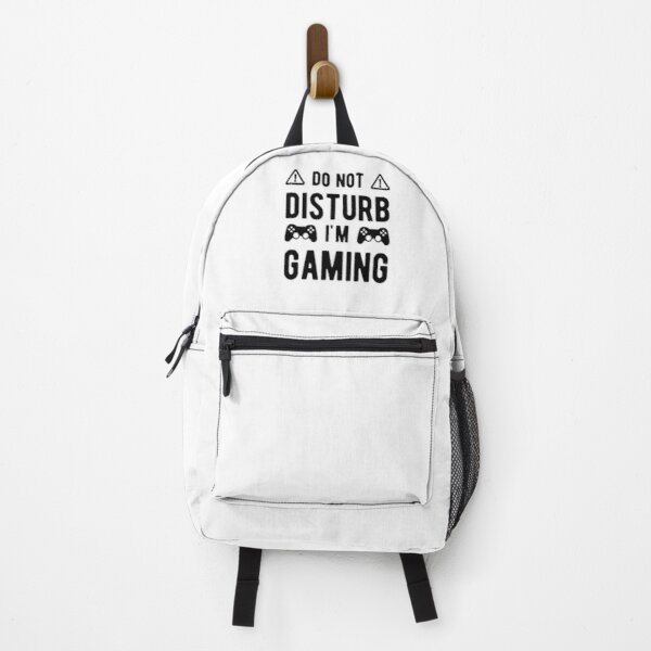 Do Not Disturb I'm Gaming Backpack