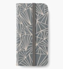 Ab Fan Grey And Nude iPhone Wallet/Case/Skin