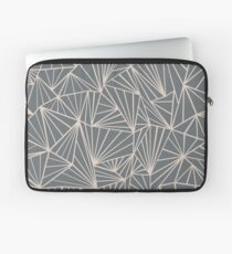 Ab Fan Grey And Nude Laptop Sleeve