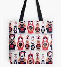 Russian Nesting Dolls – Hot Pink Tote Bag