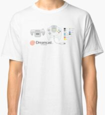 Dreamcast Japanese Controller Classic T-Shirt