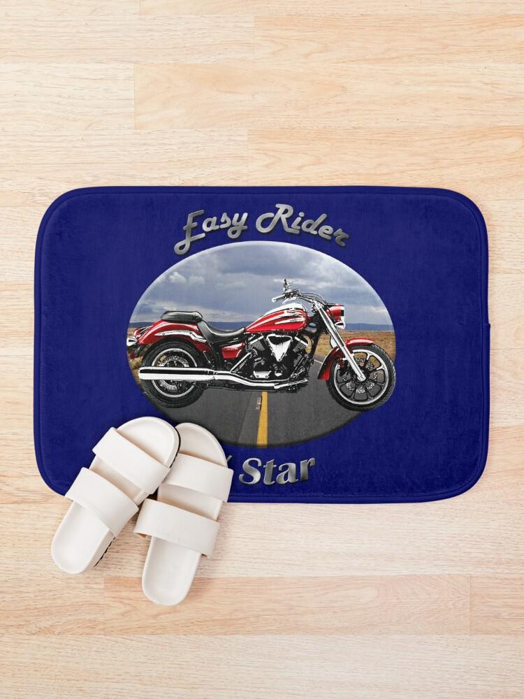 Alternate view of Yamaha V Star Easy Rider Bath Mat