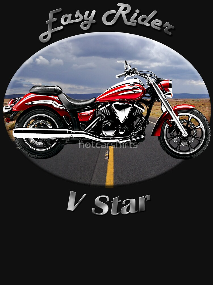 Yamaha V Star Easy Rider by hotcarshirts