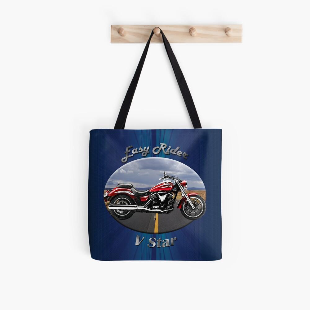 Yamaha V Star Easy Rider Tote Bag