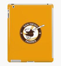 Swinging Friar 1969 San Diego Padres - One Of A Kind iPad Case/Skin