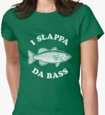 I Slappa Da Bass T-Shirt Womens Fitted T-Shirt