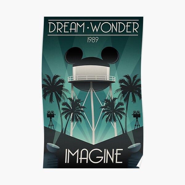 Dream Wonder Imagine Poster