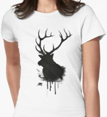 Elk Women's Fitted T-Shirt