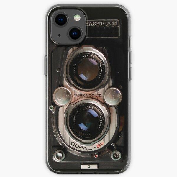 Alte Kameras, Retro-Kamera, Vintage-Fotografie, Ästhetik, Antik iPhone Flexible Hülle
