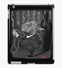 Suspense, Alfred Hitchcock iPad Case/Skin