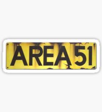 AREA 51 LOGO Sticker