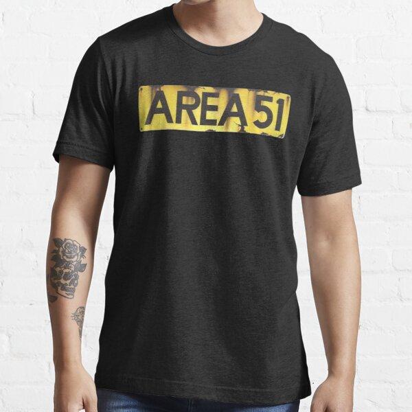 AREA 51 LOGO Essential T-Shirt