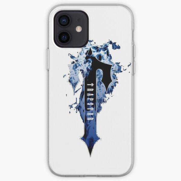 Trapstar blue fire iPhone Soft Case