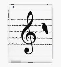 Misty Music Bird  iPad Case/Skin